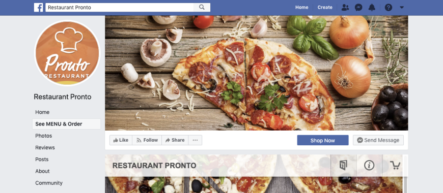 Restaurant-Facebook-Fan-Page