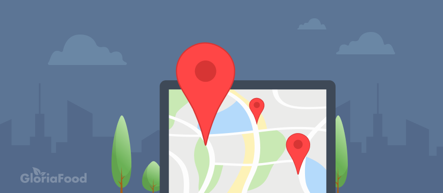 Optimizing your food delivery system - how to use the map for delivery