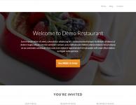 drupal demo restaurant
