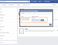 how to customize the facebook online ordering app