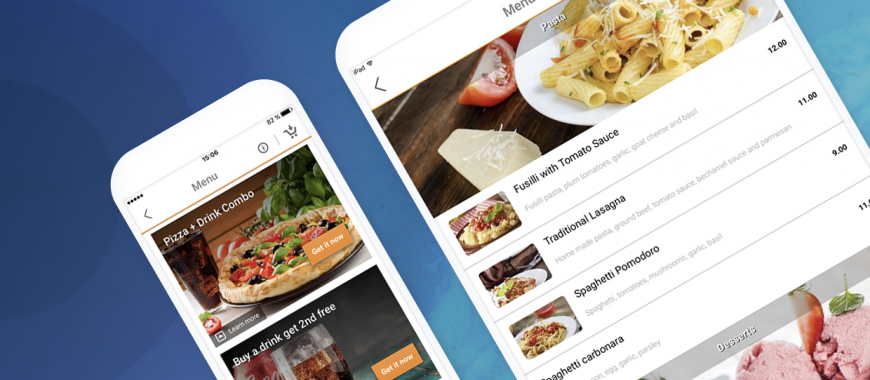 branded mobile apps for restaurants