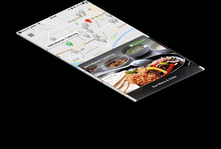 restaurant mobile app: FOODBOOKING
