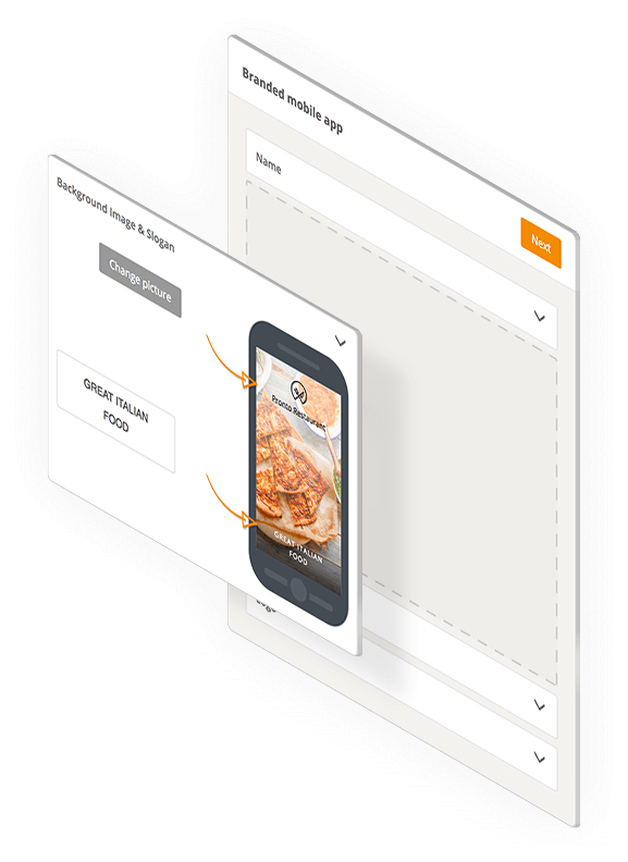 GloriaFood 's restaurant mobile app: The Branded Mobile App