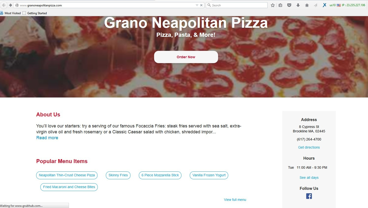 online food portals using fake restaurant websites to attract clients
