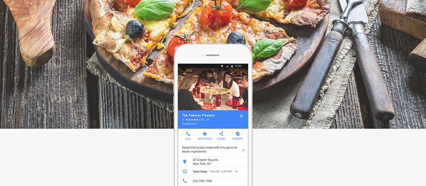 top benefits of google my business for restaurants: Google My Business helps your business stand out from the crowd