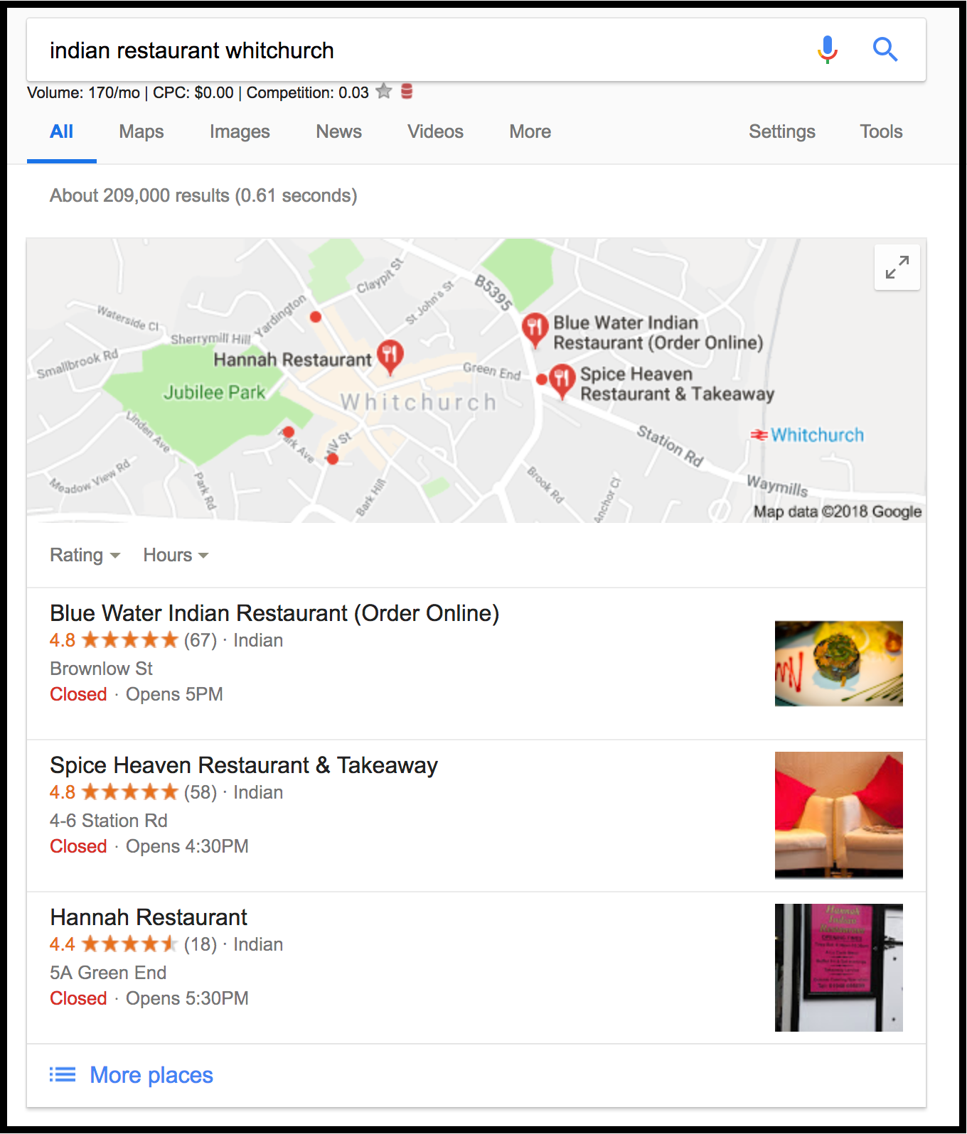 Benefits of Google My Page: it helps potential customers see your business on the maps, in a place called the Local-3 pack, located under the Map