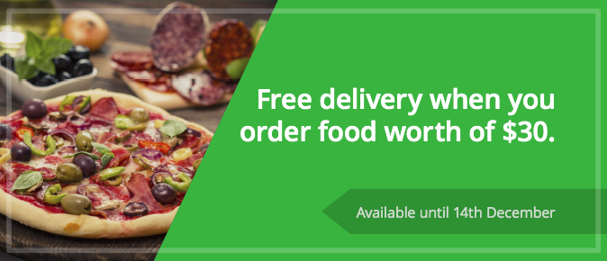 unique restaurant promotion ideas -> free delivery offer