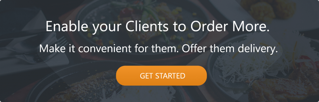 get more online orders by offering delivery to your customers