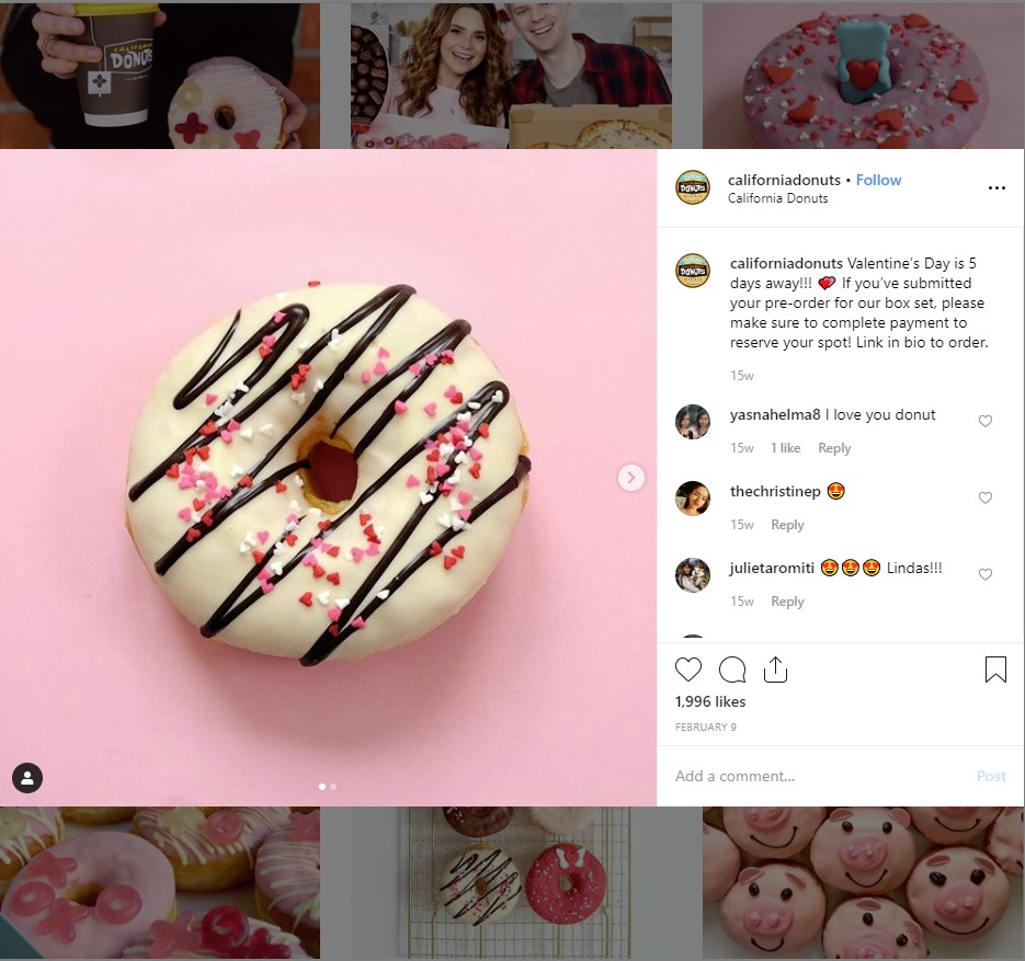restaurant instagram marketing