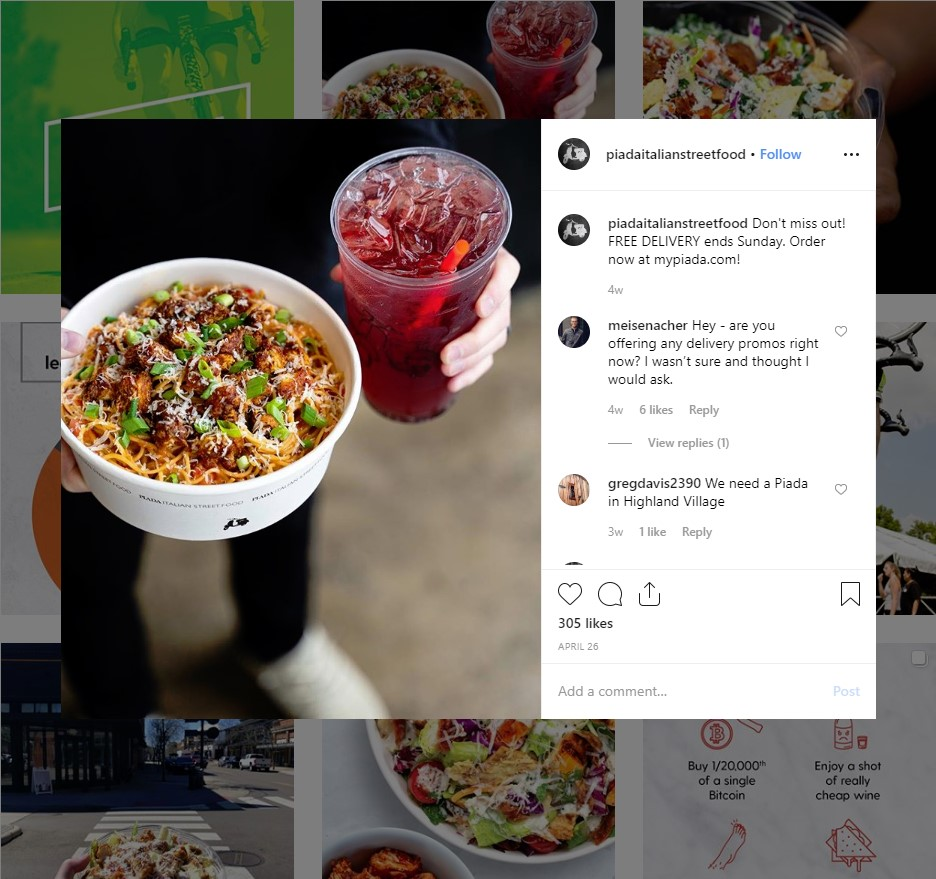 restaurant instagram marketing: running restaurant promotions on instagram