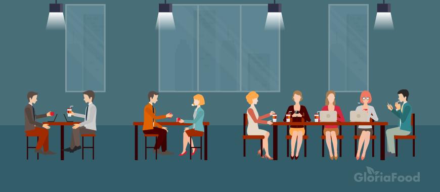 restaurant coworking space