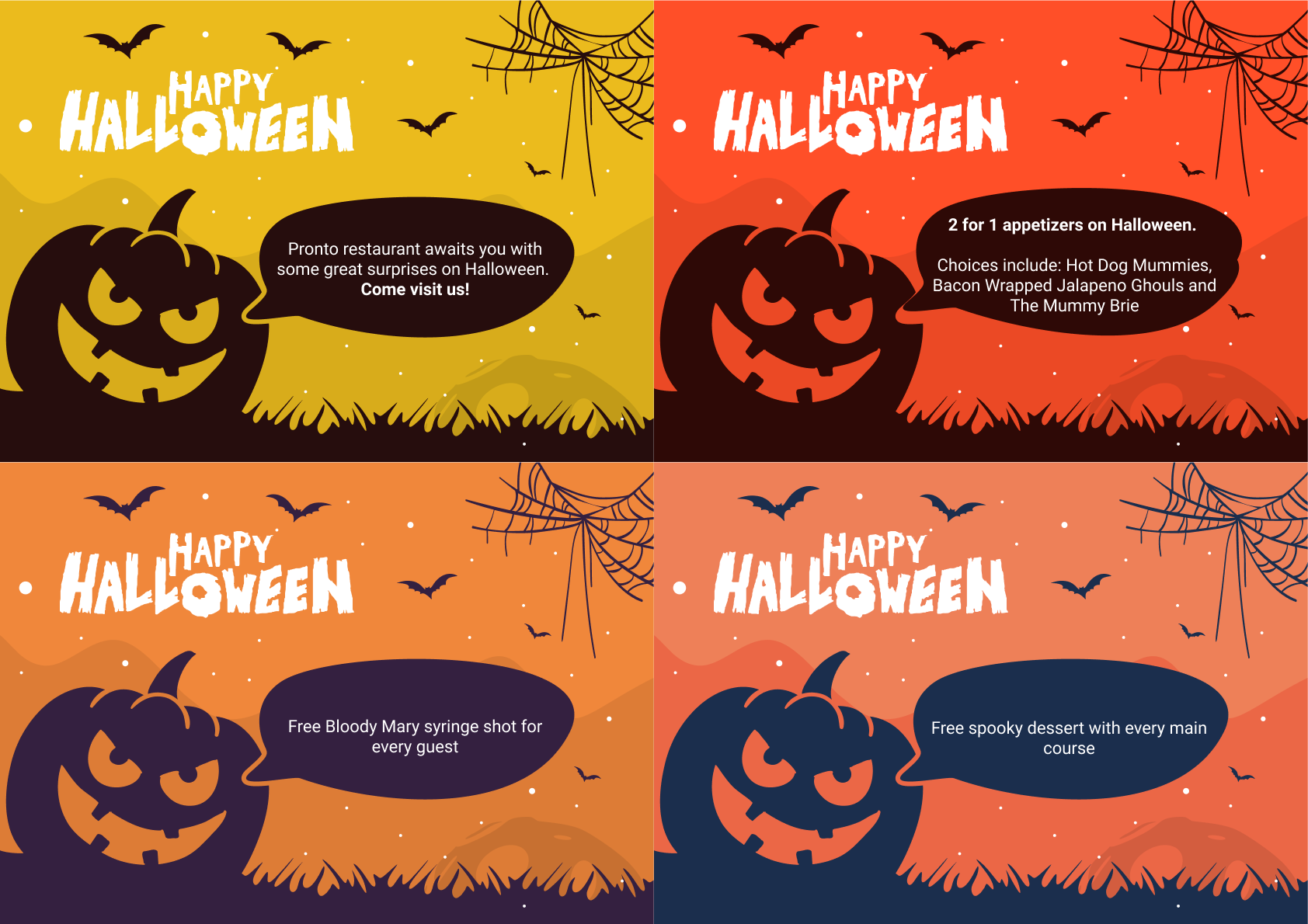 Halloween Restaurant Promotions You Should Try This Year  GloriaFood