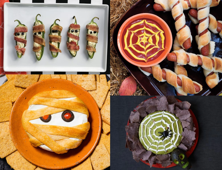 halloween at restaurant: create simple yet Halloween themed foods for your guests