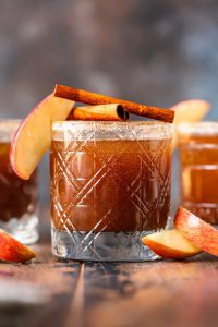 Serve Thanksgiving-Themed Drinks: apple butter old fashioned