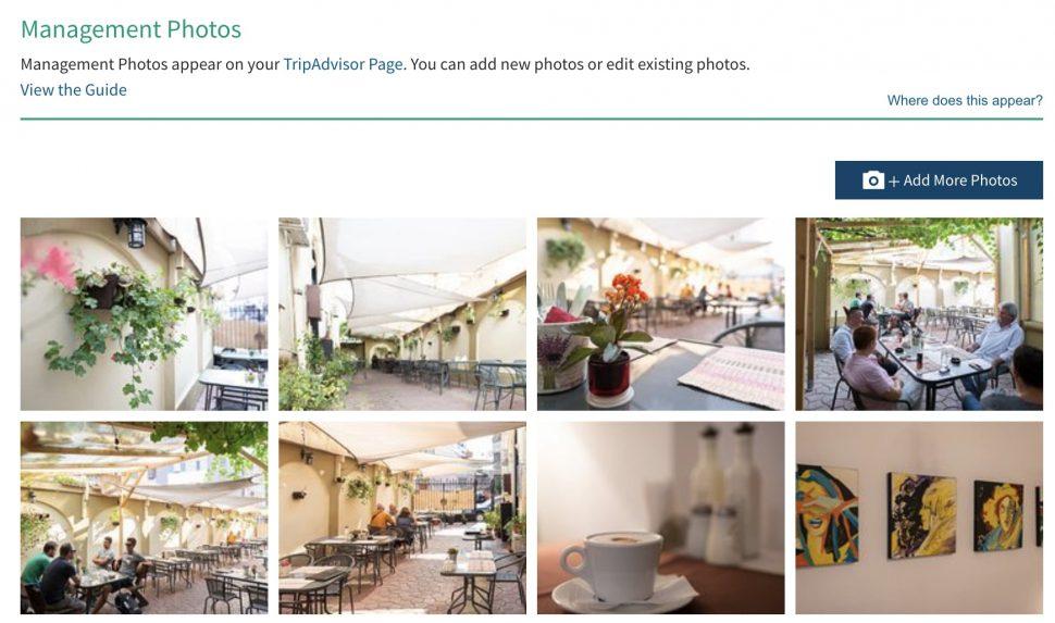 add photos to tripadvisor restaurant listing