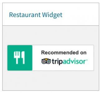 tripadvisor restaurant widget