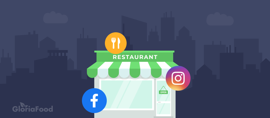 restaurant influencer marketing vectors