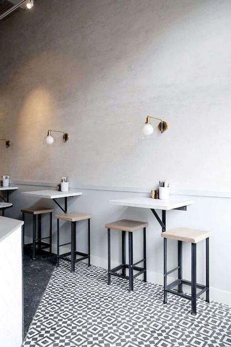 restaurant design tips for small restaurants: folding tables