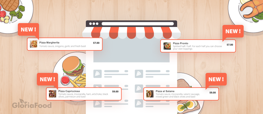 how to promote new menu items